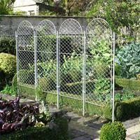 Trädgårdsskärm, Elegance Round-Trädgårdsskärm i smide Elegance Round