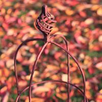 Växtstöd Obelisk Elegance rost, liten-Växtstöd i smide Obelisk Elegance rost 135 cm
