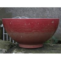 Aegean Bowl, Chocolate swirl-Lättviktskruka i Fiberclay Aegean Bowl Chocolate swirl