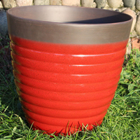 Florence Planter, Post Box Red 40 cm, Lättviktskruka Florence Planter Post Box Red 40 cm