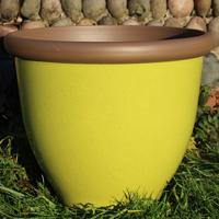 Belair Planter, Apple Green 51 cm-Belair PlanterApple Green 51  cm lättvikskruka i fiberclay