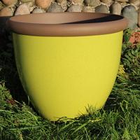 Belair Planter, Apple Green 40 cm-Belair Planter Apple Green 40cm lättvikskruka i fiberclay
