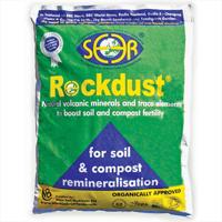 Rockdust, 20 kg-Rockdust - mineralberikande stenmjöl för odlingen