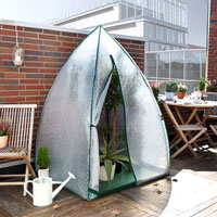 Frostskydd Igloo växttält för övervintring av växter