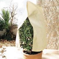 Dragkedja och snören för förslutning av Plant Jacket vinterskydd
