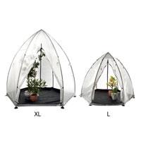 'Tropical Island' växthustält i storlek L och XL