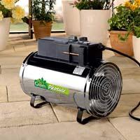 Värmefläkt Phoenix heater-Värmefläkt för växthus och uterum