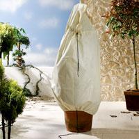 Vinterskydd, microfleece-jacka för övervintring av växter