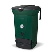 Snabbkompost 220 eco, grön-Värmekompost med termometer