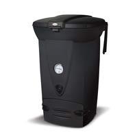 Snabbkompost 220 eco, mörkgrå-Värmeisolerad kompost med reglerbar luftväxlingsventil