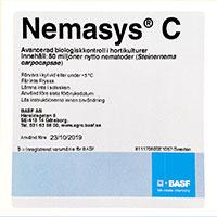 Förpackning Nemasys C