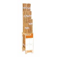 Bambukäppar 120 cm, 3-pack, Bambukäpp som växtstöd