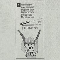 Felco Slipsten 902, Instruktionsbild till felco 902