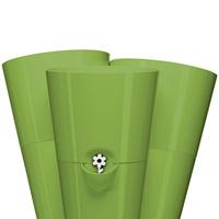 Fresh Herbs 3-i-1 självvattnande örtkruka 27x25 cm, grön