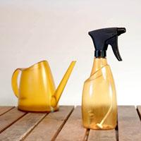 Fuchsia sprayflaska och vattenkanna, amber