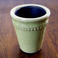 Ytterkruka Sedona Grön - Small, ytterkruka i grön keramik