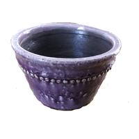 Sedonia plantskål lila - small-Plantskål i lila keramik