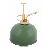 Sprayflaska för växter, grön-Blomspruta grönmålad zink