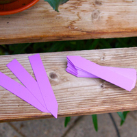 Plantetiketter 50-pack - Lila-Växtetiketter, lila