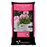 Pelargonjord, 18 L-Pelargonjord med långtidsgödning, 18 liter