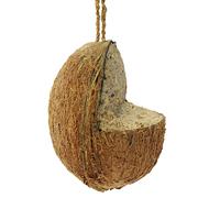 Fågelmat, Kokosnöt med snöre-Fågelmat, kokosnöt med snöre