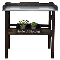 Planteringsbord i trä-Planteringsbord i trä