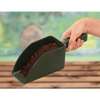 Jordskopa - Garden scoop - grön-Jordskopa i återfunnen plast