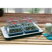 Växthus med undervärme - Four Top, Miniväxthus med termostat - Four Top