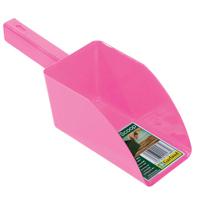 Jordskopa - Garden scoop - rosa-Jordskopa i återfunnen plast