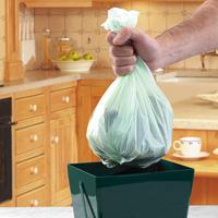 Biologiskt nedbrytbar påse till Compost Caddy Mini - 5 liter-Nedbrytbar påst till komposthinken Compost Caddy