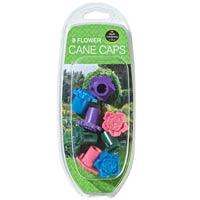 Blommiga skyddstoppar för blompinnar,