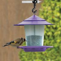 Fågelbord i Lila, fågelbord för nötter och fröblandningar