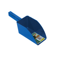 Jordskopa - Garden scoop - blå-Jordskopa i återfunnen plast
