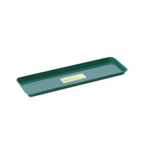 Bricka till fönsterbrädan - liten-Underbevattningsbricka för fönsterbrädan