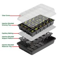 Seed Success miniväxthus med bevattning, 12 celler, innehåll paket miniväxthus med underbevattning