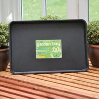 Plantbrickan Standard Garden Tray-Stor plantbricka i stadig plast