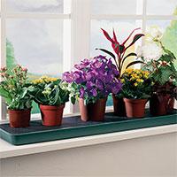 Självvattnande bricka för fönsterbrädan