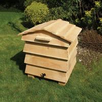 Maskkompost - Beehive Wormery #-maskkompost för hushållsavfall