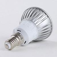 LED-lampa Growspot 4W E14-sockel röd/vit,