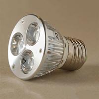 LED-lampa Growspot 4W E27-sockel röd/vit-LED-lampa för växter