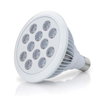 LED - White Beauty 20W, fullspektrum-LED-lampa för växter, 20watt fullspektrum