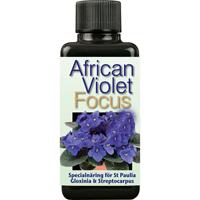 African Violet Focus - Näring för St Paulia mfl, 100ml-Specialnäring för St Paulia och övriga Gesneriaceae-släktingar