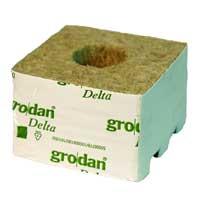 Grodan Rockwool Block 10x10 cm för odling i hydrokultur