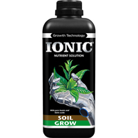 IONIC Soil Grow, 1L-IONIC Soil Grow, 1 liter plantnäring