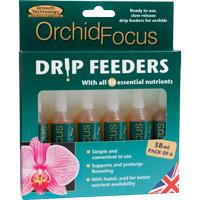 Orkidenäring, Orchid Focus Drip Feeders, 6-pack-6-pack Orkidenäring i droppform med rena, lösliga mineralsalter