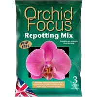 Orchid Focus Medium - orkidéjord , 3L-Orkidejord med kokosfiber och komposterad bark