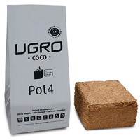 UGRO Pot, 4 liter-Cocos - Ugro Pot 4L