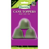 Växtstöd, 3 CaneTopper, oliv, 3-pack, 3-CaneToppers, pyramidväxtstöd, olivgröna