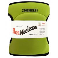 Knäskydd BosNeeleze, limegrön-Knäsydd i memoryfoam för trägårdsarbete, Limegrön