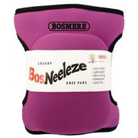 Knäskydd BosNeeleze, rosa-Knäsydd i memoryfoam för trägårdsarbete, Rosa